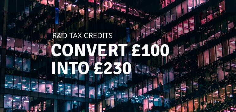 R&D Tax Credits in UK