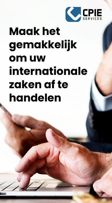 Internationale handelen CPIE Services